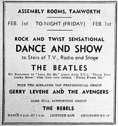 beatles flyer