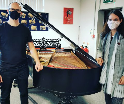 Grand Piano rehomed to Two Rivers