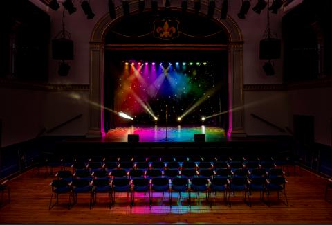 Tamworth Assembly Rooms Stage