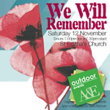 we will remember poster